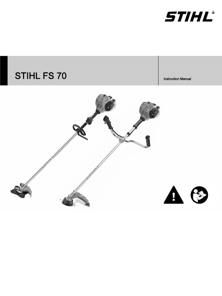 Stihl fs 70 strimmer instruction manual gasoline mower biocorpaavc Image collections