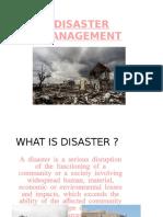 Disaster Management 1234
