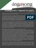 Artikel Curbing Speech Cry