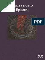 Otto Walter F - Epicuro