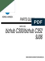 Partes Minolta Bizhub c300_c352