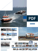 Damen Pontoons and Barges Brochure Oct 2015