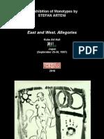 AnExhibitionOfMonotypesByStefanArteni_EastAndWest.Allegories