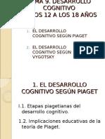 Tema 9 Desarrollo Cognitivo