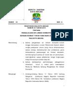 BD Perwal Nomor 45 Tahun 2015 Pengelolaan Air Limbah Domestik