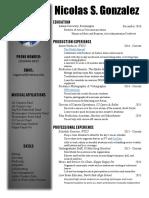 resume practice