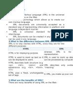 XML,Xslt,Wsdl Interview Questions