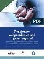 Informe Pensiones Fundacion Juan Bosch 2016