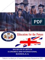 Bachelor Economics International Business