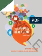 The Language of Real Estate 7E