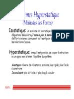 Systeme hyperstatique
