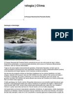 Geologia _ Hidrologia _ Clima