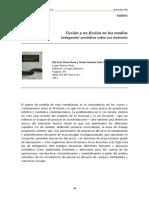 Ficción y no ficción en los medios indagación semiótica sobre sus mixturas María Rosa del Coto y Graciela Varela, (editoras)