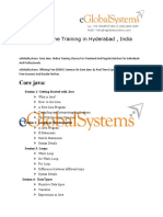 Core Java Online Training | Core Java Training in hyderabad , india , uk