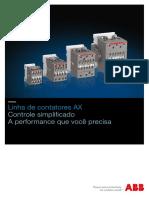 Catalogo - Linha de Contatores AX_Portugues