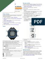Garmin Forerunner 15 Manual - PT