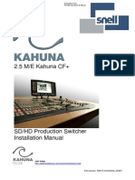 2.5ME Kahuna CF Install Manual Issue 4.3 Rev 3