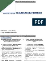02_Documentos e Cartas Do Patrimônio Cultural