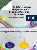 Power Point_Excellent Services Untuk Pelanggan Eksternal