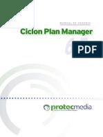 Ciclon Plan Manager-Manual de Usuario