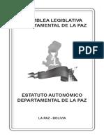 Estatuto autonómico la paz