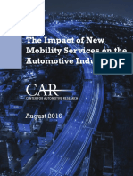 Car - Impact of New Mobility Services on the Automotive Industry