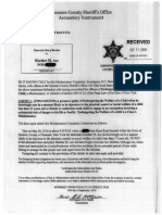 Criminal complaint against Heather Ace