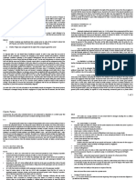 Transpo Law Case Digest Charter Parties