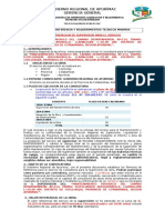 2-TDR IFICAR - SUPERVISION..25 KM. (Coyllurqui)Quiscahuaylla-LLamayupa