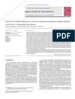 Glicerol Potocatalisys