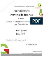 Proyecto Tutorias CBT