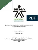 Análisis Integral Del Valor Costo Beneficio en El Uso de Energías Alternativas Terrestres y Marítimas en La Península de La Guajira (Autoguardado)