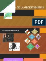 Historia de La Geoestadistica