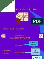 Presentacion Curso Administracion de Bodega 1