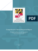 Maryland State Retirment an Pension System - 2009 CAFR