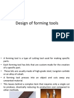 Design of Forming Tools