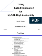 GTID Based Replication for MySQL High Availability 0570