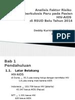 Analisis Faktor Risiko Terhadap Kejadian HIV-AIDS