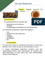 Caracterização Dos Materiais