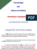 Banco de Dados - SQL - Oswaldo