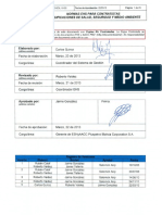 ANEXO III Normas EHS Para Contratistas