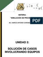 Simulación de Procesos Unidad 2