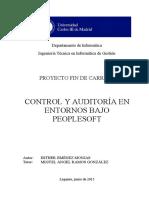 Control y Auditoria en Entornos Bajo Peoplesoft