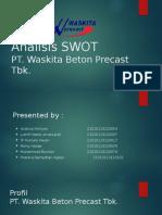 213486_Analisis SWOT PT. Wijaya Beton Precast Tbk.