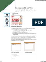 4.Layout Management in WxPython