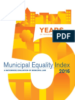 Municipal Equality Index 2016