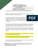 1st Mid term exam Fall 2015 Auditing.docx