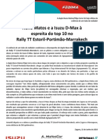 Press Nuno Matos 10.06.11 Etapa 6 Estoril-Marrakeche