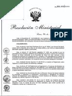 RM365_2013_MINSA. Certificado de PGH