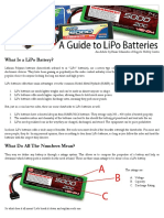 A Guide to LiPo Batteries